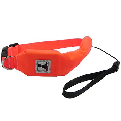 Release N Run Orange Large Collar Retractable Lead