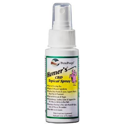 Homer's  CBD Pain Relief Pet Spray 2oz
