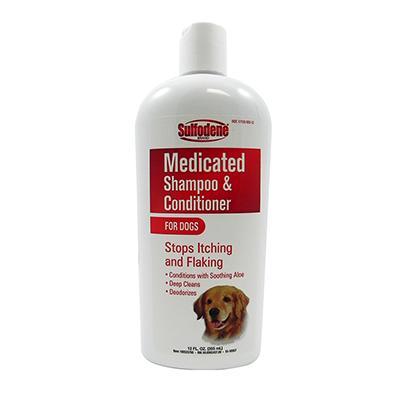 Sulfodene Mecicated Shampoo for Dogs 12oz