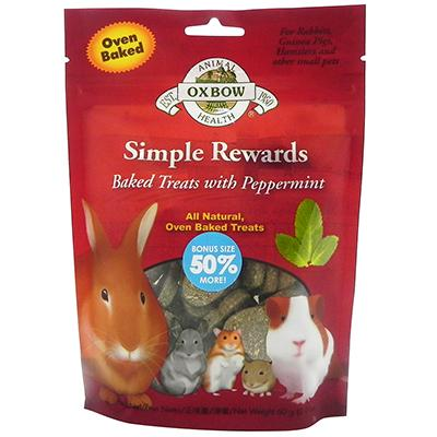 Oxbow Simple Rewards Peppermint 3oz Click for larger image