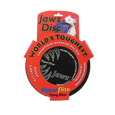 Hyperflite Jawz Black Competition Dog Sport Disc