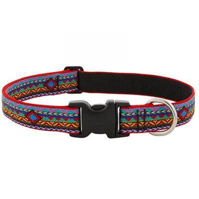 Dog Collar Adjustable Nylon El Paso 16-28 1 inch wide Limit Click for larger image