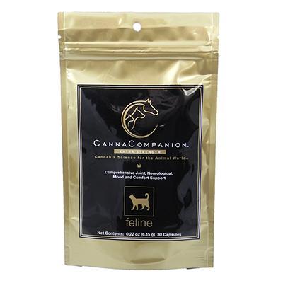 Canna Companion Extra Strength CBD for Cats 30 Caspules