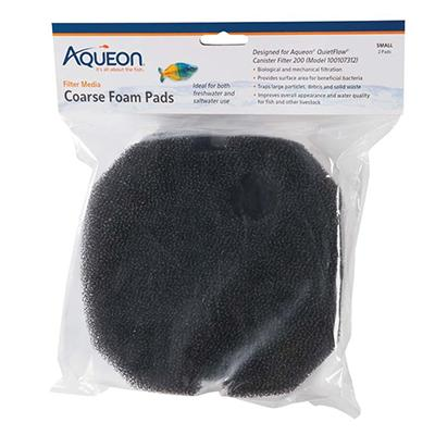 Aqueon 200 Canister Filter Replacement Foam Pads 2-Pack