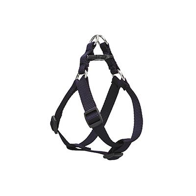 Nylon Dog Harness Step In Black 10-13 inches