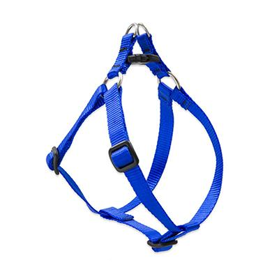 Lupine Nylon Dog Harness Step In Blue 10-13 inch