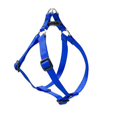 Lupine Nylon Dog Harness Step In Blue 12-18 inch