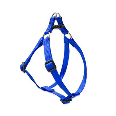 Lupine Nylon Dog Harness Step In Blue 15-21 inch