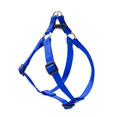 Lupine Nylon Dog Harness Step In Blue 19-28 inch