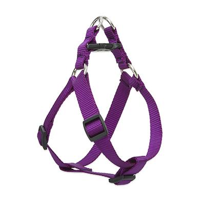 Lupine Nylon Dog Harness Step In Purple 10-13 inch