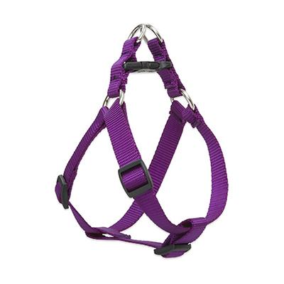 Lupine Nylon Dog Harness Step In Purple 12-18 inch