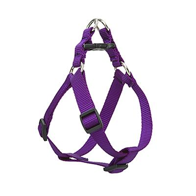 Lupine Nylon Dog Harness Step In Purple 15-21 inch