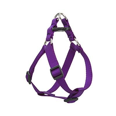 Lupine Nylon Dog Harness Step In Purple 20-30 inch