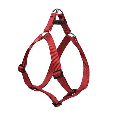 Lupine Nylon Dog Harness Step In Red 10-13 inch