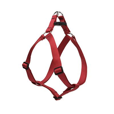 Lupine Nylon Dog Harness Step In Red 12-18 inch