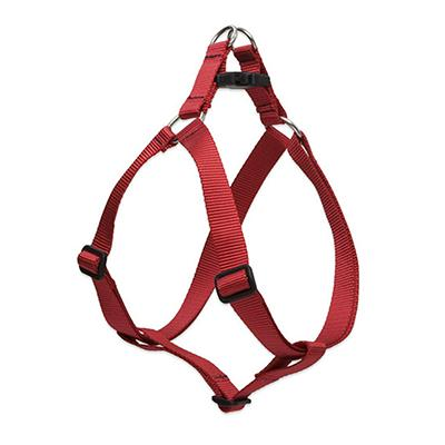Lupine Nylon Dog Harness Step In Red 19-28 inch