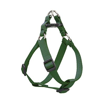 Nylon Dog Harness Step In Green 20-30 inches