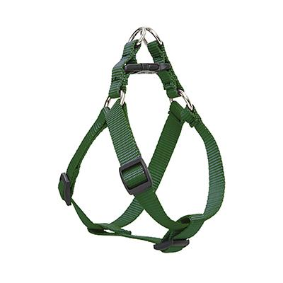 Nylon Dog Harness Step In Green 19-28 inches