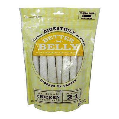 Better Belly Rawhide Rolls Sm 20pk