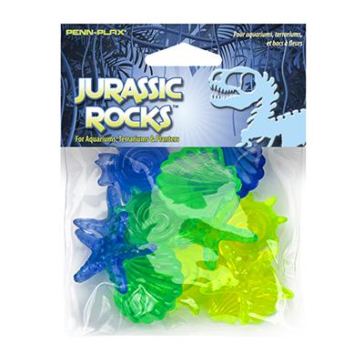 Jurassic Rocks 12 Piece Tank Decorations