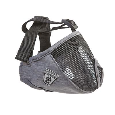 Dog Muzzle Short Snout Large Charcoal