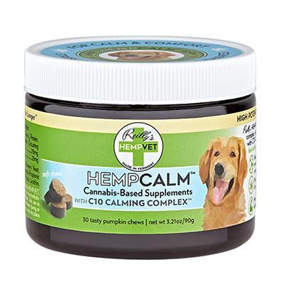 HempVet HempCalm Supplement for Dogs 30ct