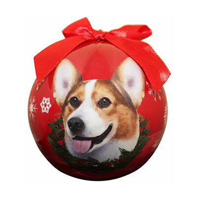 E&S Imports Shatterproof Animal Ornament Welsh Corgi Click for larger image
