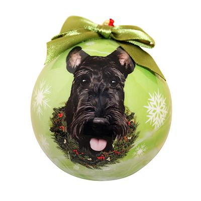 E&S Imports Shatterproof Animal Ornament Scottie