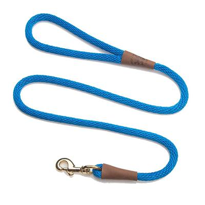 Mendota Large Blue Snap Lead Dog Leash 6ft.