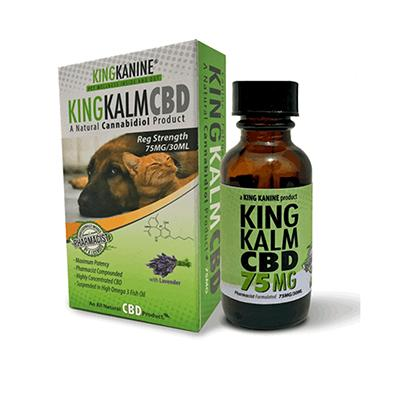 King Kalm CBD Regular Strength Pet Supplement 30ml