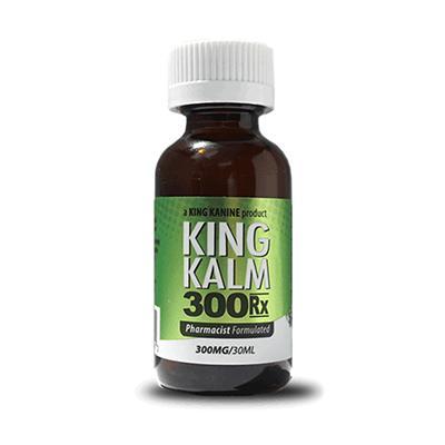King Kalm CBD 300mg RX Maximum Strength Pet Supplement 30ml