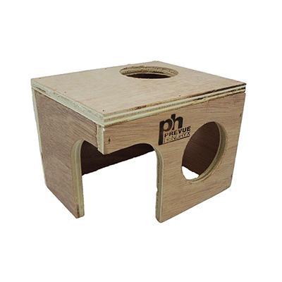 Prevue Wood Hamster Hut Medium Click for larger image