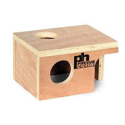Prevue Pet Products Wood Mouse Hut Small Click for larger image