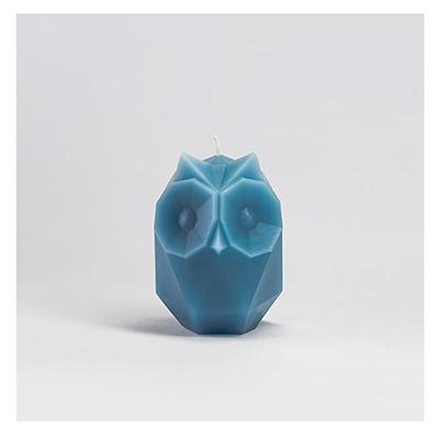 Pyro Pet Candle Ulga Blue Paraffin Wax Candle with Skeleton