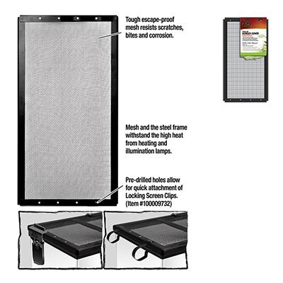 Zilla Fresh Air Screen Terrarium Cover 16 x 8-inch Click for larger image