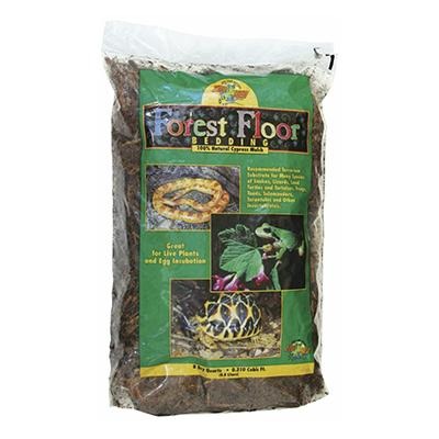 ZooMed Forest Floor Cypress Mulch Bedding for Reptiles Click for larger image