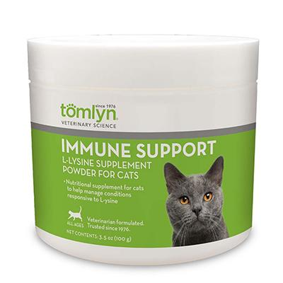 Immune Support L-Lysine Cat Supplement 3.5oz (100g) Click for larger image