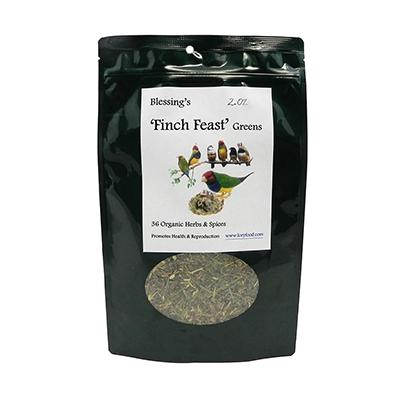 Blessing's Finch Feast Greens Bird Food 2oz.