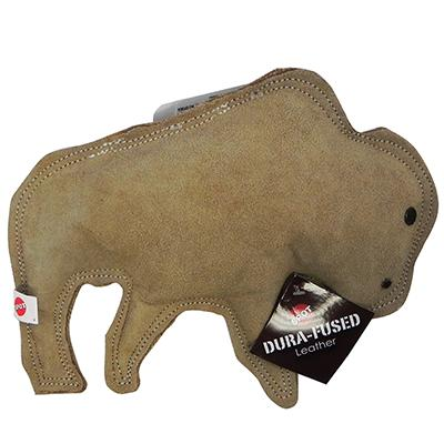Ethical Dura-Fuse Leather Buffalo Large Dog Toy Click for larger image