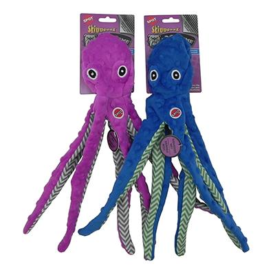 Skinneeez Extreme 16 inch Octopus Dog Toy Click for larger image