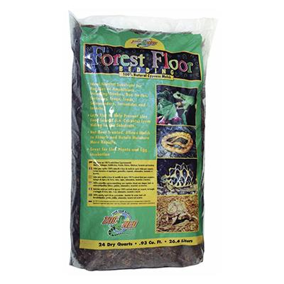 ZooMed Forest Floor Cypress Mulch Bedding 24 quart Click for larger image