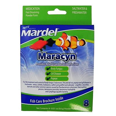 Mardel Maracyn Saltwater & Freshwater Medication Click for larger image