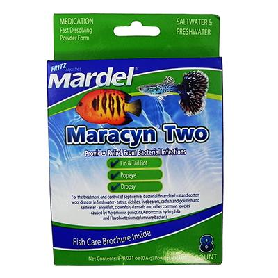 Mardel Maracyn 2 Saltwater & Freshwater Medication Click for larger image