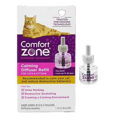 Comfort Zone Cat Pheromone Calming Refill Click for larger image