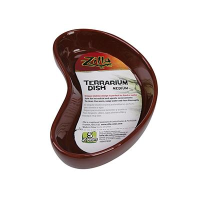 Zilla Reptile Terrarium Dish Medium Click for larger image