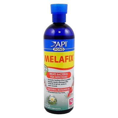 API Pond Melafix Antibacterial Fish Remedy 16oz Click for larger image