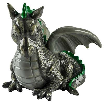 Ornament Glo Dragon Med Click for larger image