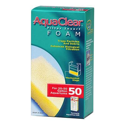 Hagen AquaClear 50 Aquarium Filter Foam Filter Insert