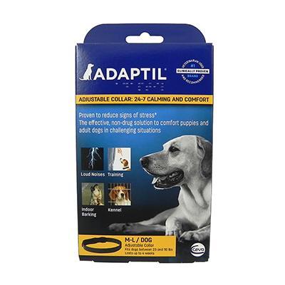 Adaptil Dog Calming and Comfort Collar M-L