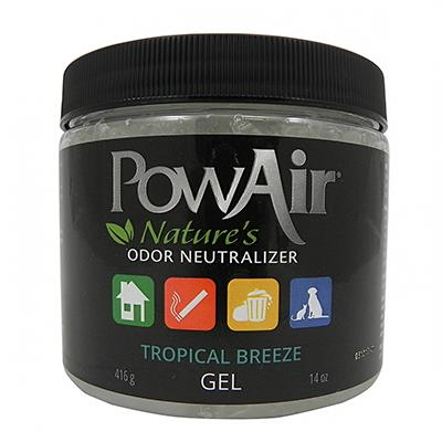 PowAir Tropical Breeze Gel Odor Neutralizer